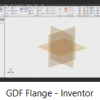 How do I use Inventor to make The Flange?