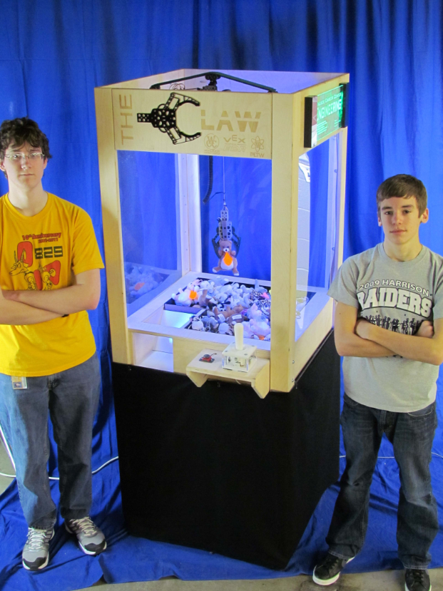 VEX Claw Students