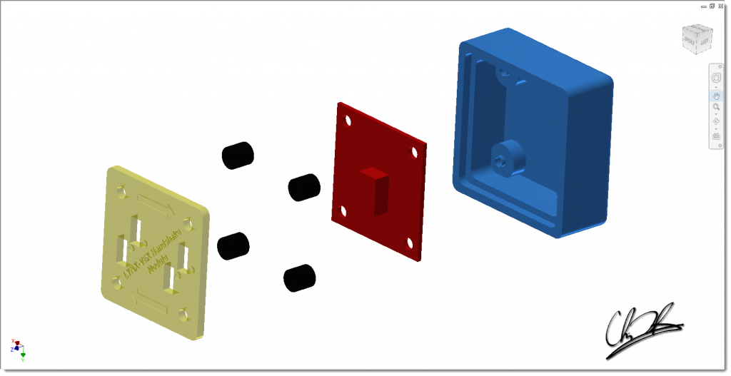 HSM exploded view